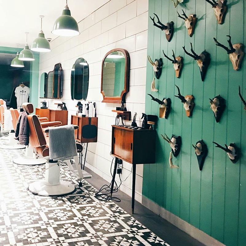Barber Streisand Interior - Credit @captainodair